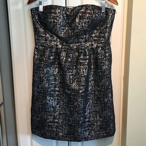 Gianni Bini Empire Waist Strapless Dress/Tunic